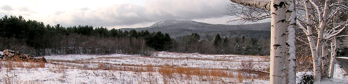 Landscape image near route 2 in Lyndeborough, NH